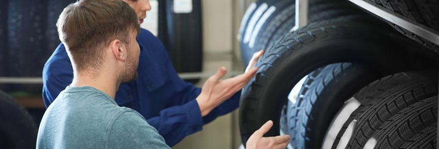 Achat pneus